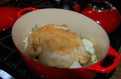 Faithful reader and commenter Mary Kathryn suggested Chicken In A Pot when I begged for more chicken recipes in a recent post.  I followed the directions she left in the comment section, and she was right.  This chicken is moist, succulent, and best of all, EASY PEASY.  Here's what I did. Take a fresh pastured […]