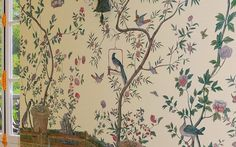 Chinees Behang IKSEL Chinoiserie Exotische Vogels (Historische Behangsels)  -  Luxury By Nature