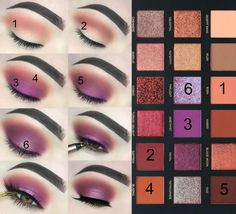 Huda Beauty desert dusk palette makeup tutorial: this step by step makeup tutorial is so easy to follow and looks so good for any occasion. This makeup idea is great for prom and weddings.