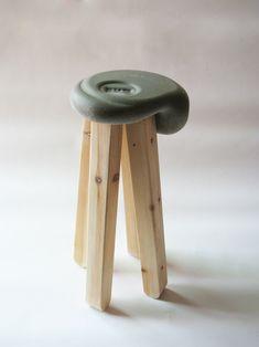 yael tandler: batzek bowl & stool collection