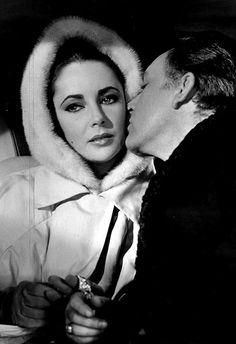 #Elizabeth Taylor  #richard burton