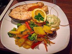 Lachs vom Blech, ein schönes Rezept aus der Kategorie Gemüse. Bewertungen: 93. Durchschnitt: Ø 4,4.