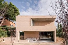 Architects Directory 2020: Malu de Miguel, Spain Concrete Forms, Exposed Concrete, Technical Architect, Suite Principal, Ground Floor Plan, Brickwork, Interior Exterior, Interior Design, Contemporary Architecture