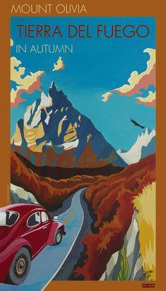 Mount Olivia, Tierra del Fuego Artist: Marine Israel