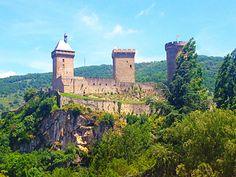 Foix in Midi-Pyrénées