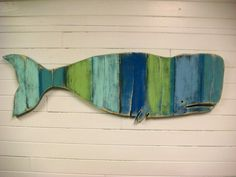 Whale Sign Beach House Weathered Wood Wooden by CastawaysHall