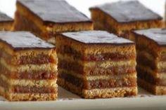 Sardines marinated on toasted sandwiches - Healthy Food Mom Baking Recipes, Cake Recipes, Dessert Recipes, Kolaci I Torte, Torte Cake, Croatian Recipes, Food Cakes, Homemade Cakes, Chocolate