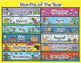 """Checkout the """"Kid-drawn Months of the Year Chart"""" product"""