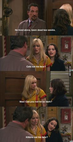 2 Broke Girls / Two Broke Girls / 2BG / TBG - Max Black and Caroline Channing - quote - screencap