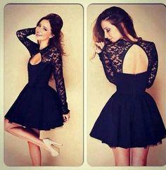#black #dress Black beauty bridesmaid dress http://thepageantplanet.com/