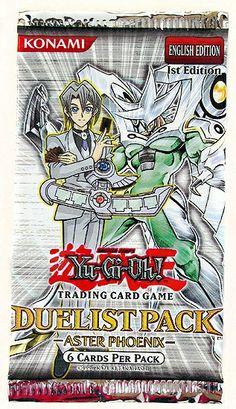 Yu-Gi-Oh GX Duelist Aster Phoenix Booster Pack (Lot of 24)   dacardworld.com