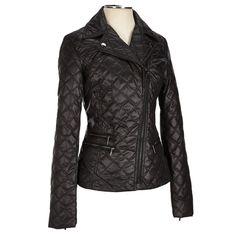 Cute Asymmetrical Zip Quilted Jacket Coats Women Burlington Coat Factory