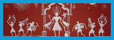 WARLI PAINTINGS.