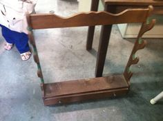 Vintage gun rack for sale at the ReStore! 532 Barber St. Athens, GA