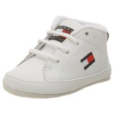 Tommy Hilfiger Infant/Toddler Flag Crib Shoe,White,0 M US Infant Tommy Hilfiger. $31.99