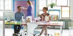Get Together Desk | Bench desks with modular accessories | Sedus