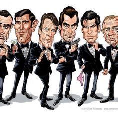The James Bonds - Tom Richmond