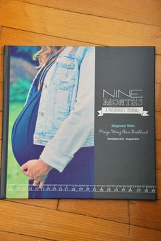 a pregnancy photobook – a fun way to document those 9 months | the sweetest digs