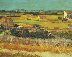 "Vincent Van Gogh ""The Harvest"", (1888)"