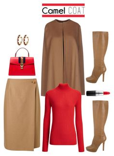 """Wear a Camel Coat!"" by dianefantasy ❤ liked on Polyvore featuring Jigsaw, Jimmy Choo, MAC Cosmetics, House of Harlow 1960, Gucci, Odi et Amo, Joseph, polyvorecommunity, polyvoreeditorial and camelcoat"