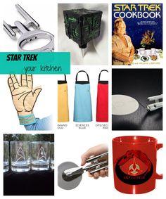 17 Ways to Star Trek Your Kitchen
