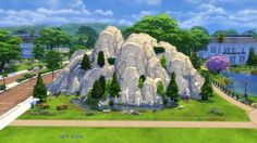 Mod The Sims - Tranquil Mountain and Midnight Cave