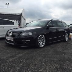 Black Passat b6 Rotiform