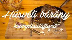Húsvéti Bárány krumplisalátával recept, Lamb with potato salad, Lamm mit...