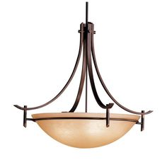 Kichler Olympia Pendant Light - 36W in. Olde Bronze | from hayneedle.com