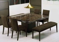 Get Extraordinary Fashionable Look With 2017 Marble Dining Tables Dining Room Table Dream Dining Room Country Dining Rooms