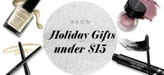 Use the handy Avon Holiday Gift Guide to shop for gifts under $15 for the holidays! #AvonRep