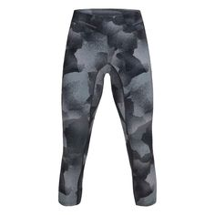 Kjøp Peak Performance Women's Printed Cropped Tights fra Outnorth Peak Performance, Sport, Tights, Sweatpants, Prints, Fashion, Trousers, Navy Tights, Moda