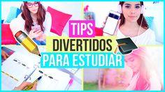 TIPS DE ESTUDIO Y ORGANIZACIÓN DIVERTIDOS (LIFE HACKS PARA LA ESCUELA) ♥...