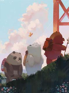 "everydaylouie: ""we bare bears """