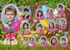 Orla Escolar para Niños. | Fondos para Fotos, Collages y Foto Montajes en alta calidad.