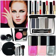 Collection Libre Synthetic de Chanel #chanelmakeup #chanelbeauty #highendmakeup…