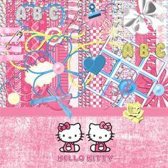 Hello Kitty Digital Scrapbook Kit