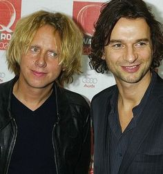 Dave & Martin Martin Gore, Dave Gahan, Lie To Me, My Favorite Music, Cool Bands, Lgbt, Pure Products, David, Glitter
