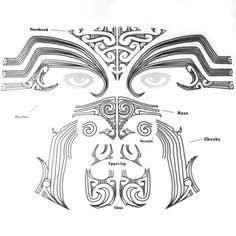 From the Land of the Long White Cloud - Aotearoa, this temporary tattoo is inspired by the tā moko of Maori culture. In ancient times before European influence, the Maori tattooed their skin using an Maori Tattoos, Tribal Face Tattoo, Tribal Scorpion Tattoo, Ta Moko Tattoo, Band Tattoos, Samoan Tribal Tattoos, Filipino Tattoos, Marquesan Tattoos, Sleeve Tattoos