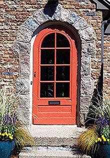 Bright Colored Doors | Decorating | Room Color Accent Ideas | Interior Door  Color