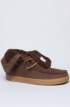 dd797f9444c172 Ipath The CAT HI- Shearling Sneaker in Brown