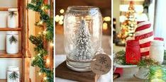 40 Magical Ways to Use Mason Jars This Christmas Because it's not a country Christmas without a few Mason jar crafts. Mason Jar Christmas Crafts, Jar Crafts, Homemade Christmas, Decor Crafts, Holiday Crafts, Christmas Ornaments, Holiday Decor, Home Decor, Country Christmas