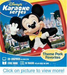 Disneys Karaoke Series Theme Park Favorites