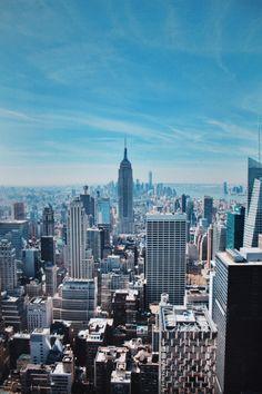 New York, Top of the Rock www.saansh.com @saansh