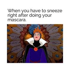 When your allergies ruin your morning. | 24 Very Real Struggles For Everyone Who Wants Perfect Eyelashes