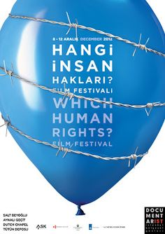 Film Festival Posters: Which Human Rights Film Festival 2012