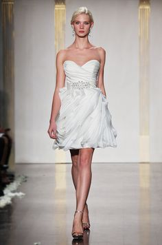 Tara Keely short wedding dress, Spring 2012