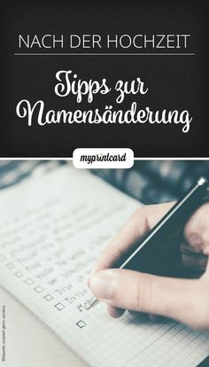 Die Namensänderung nach der Hochzeit – das ist wichtig How was that even with the new name after the wedding? With these tips you can easily manage the overview. # Name change Diy Wedding Veil, Budget Wedding, Plan Your Wedding, Wedding Tips, Wedding Events, Destination Wedding, Wedding Cake, Baby Wedding, Wedding Blog