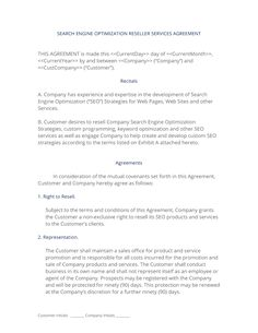 Reseller agreement template treatment plan forms mental health resellervar contract the var reseller agreement is used when platinumwayz