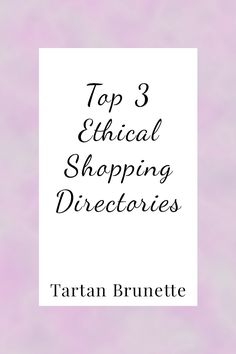 Shopping for ethical fashion can be difficult especially if you don't know what…
